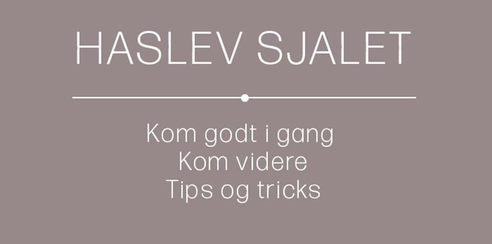 Haslev sjalet - workshop nr. 13