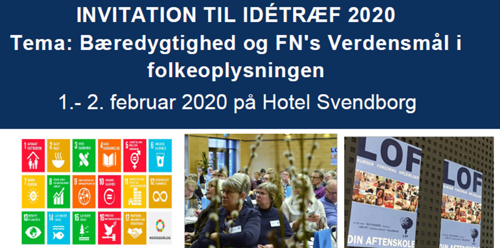 Program for Idétræf - LOF's interne udviklings- og inspirationskonference